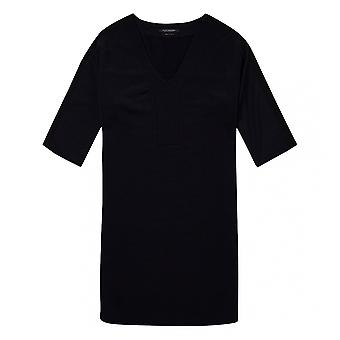 Maison Scotch Maison Scotch V-Neck Sweat Panel Sleeved Womens Dress