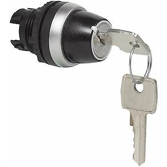 Key switch Front ring (PVC), chrome-plated Black, Chrome 1 x 45