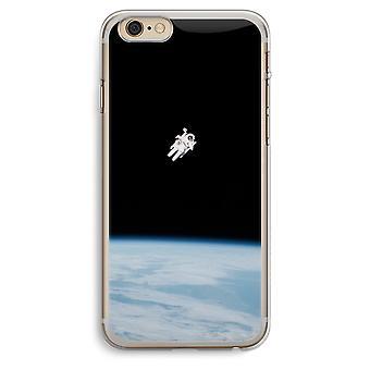 iPhone 6 Plus / 6S Plus Transparent fodral (Soft) - ensam i rymden