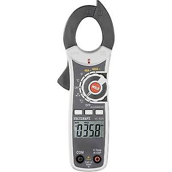 VOLTCRAFT VC-520 Clamp meter Digital Calibrated to: ISO standards CAT III 600 V Display (counts): 4000