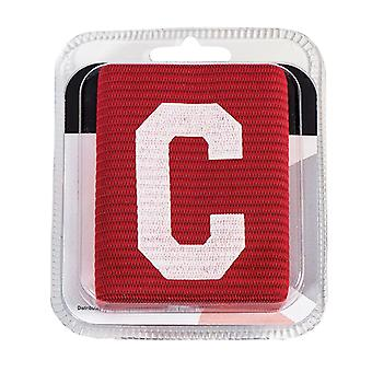 Captains Armband Big C Style Red Senior