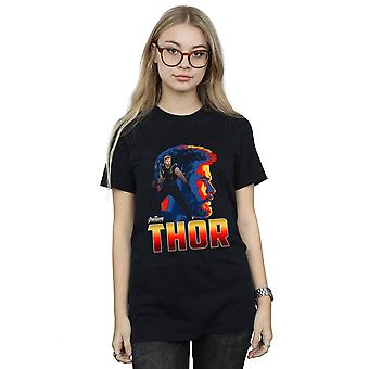 Avengers Women's Infinity War Thor Character Boyfriend Fit T-Shirt