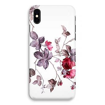 iPhonegeval X volledige Print (Glossy) - mooie bloemen