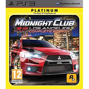Midnight Club LA - Complete Edition Platinum (PS3)