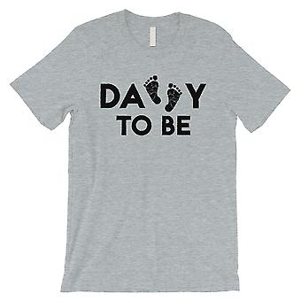 Daddy To Be Mens Grey Shirt