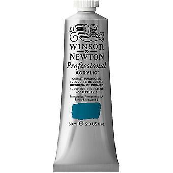 Winsor & Newton Professional Acrylic 60ml - 190 Cobalt Turquoise (S5)