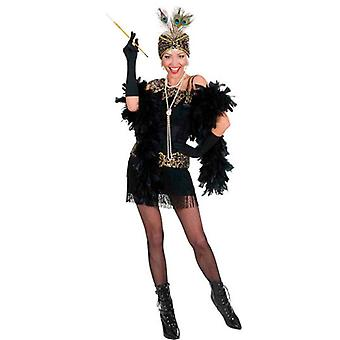1920S Flapper Dress - Black