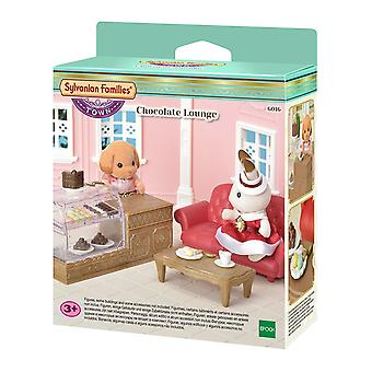 Sylvanian Families 6016 Chocolate Lounge Accessory Set