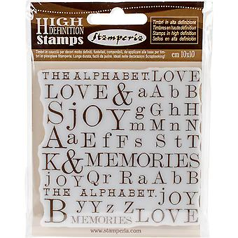 Stamperia Cling Stamp 4