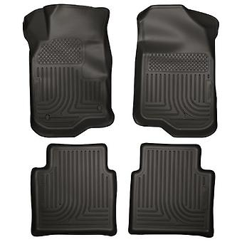Husky Liners Front & 2nd Seat Floor Liners Fits 08-12 Malibu, 07-09 Saturn Aura