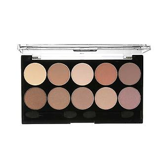 W7 Cosmetics 10 out of 10 Eyeshadow Palette 'Browns'