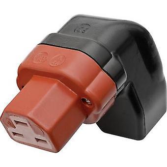 Heißer Draht Anschluss 444 Serie (Netz-Stecker) 444-Buchse, rechtwinklig Gesamtzahl der Stifte: 2 + PE 16 A schwarz, rote Kalthoff 444P/Si/Wi 1 PC