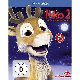 Blu-ray 3D Niko 2 - Kleines Rentier, großer holdt (+ 2D-versjonen) FSC: 0