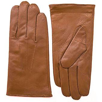 Pittards Nappa Leather Gloves - Cognac Tan
