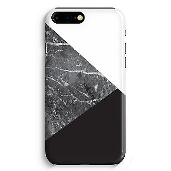 iPhone 8 Plus Full Print Case (Glossy) - Marble combination