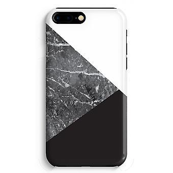 iPhone 8 に加えて、フル印刷ケース (光沢のある) - 大理石の組み合わせ
