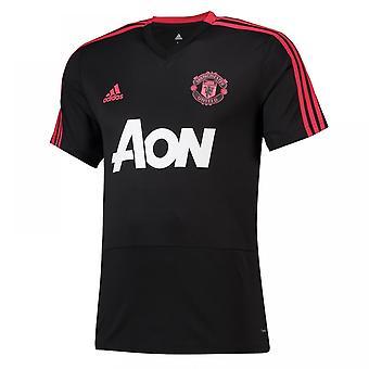 2018-2019 Man Utd Adidas Training Shirt (Black)