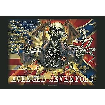 Avenged Sevenfold Large Fabric Poster / Flag 1100Mm X 750Mm