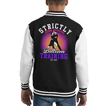 Strictly Come Dancing Ballroom Training Kid's Varsity Jacket