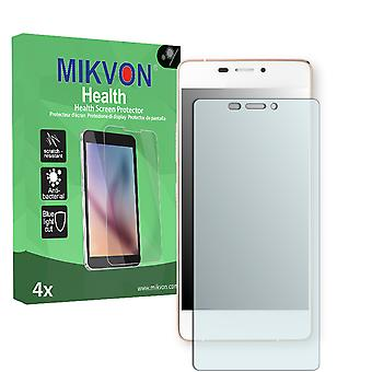 Kazam Tornado 348 Screen Protector - Mikvon Health (Retail Package with accessories)