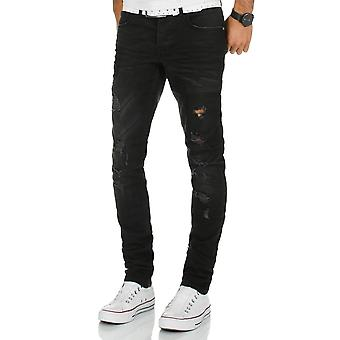 L.A.B 1928 men's jeans pants black