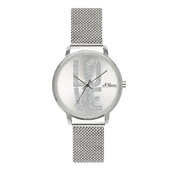 s.Oliver women's watch wristwatch stainless steel SO-3579-MQ