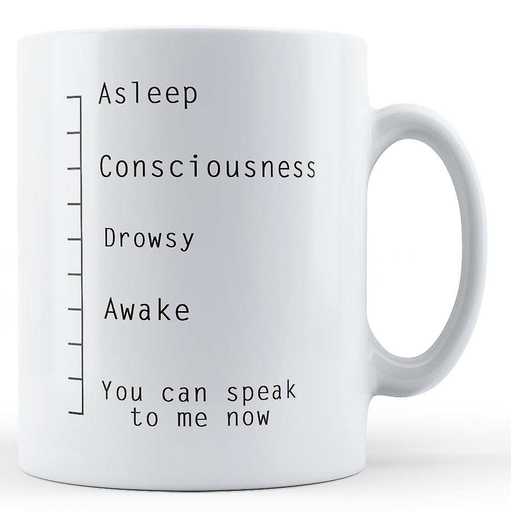 LigneVous Pouvez Mesure Imprimé Me Parlez Mug Maintenant De 0wOPZNkX8n