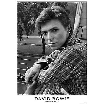David Bowie Poster London 1977