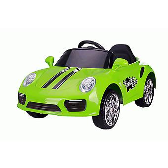 Rideontoys4u Kids 12V Boxster Style Sports Coupe Electric Ride On Car Green