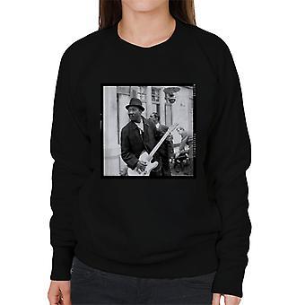 TV Times Muddy Waters Blues And Gospel Train 1964 Women's Sweatshirt