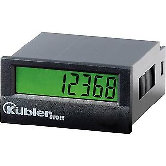 Kübler Impulse meter Codix 130HB,Assembly dimensions 45 x 22 mm, High voltage 10 - 260 V/AC/DC - 30