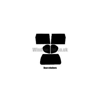 Pre cut window tint - Nissan X-Trail - 2007 to 2013 - Rear windows