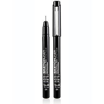 Montana Black Sketchliner Pen - Size 0.1mm