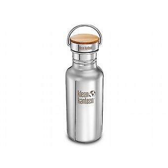 Klean Kanteen 532ml Reflect Kanteen Bottle with Bamboo Cap