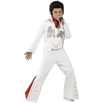 Traje de Elvis, mediana edad 7-9