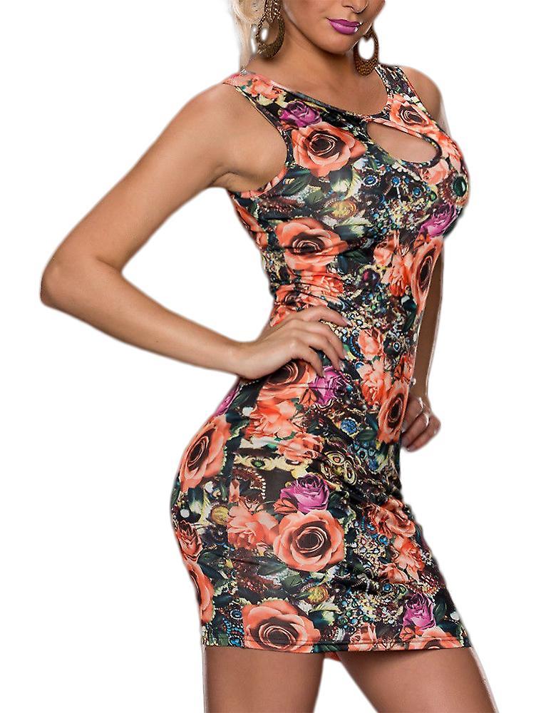 Waooh - Robe motif fleur Cael