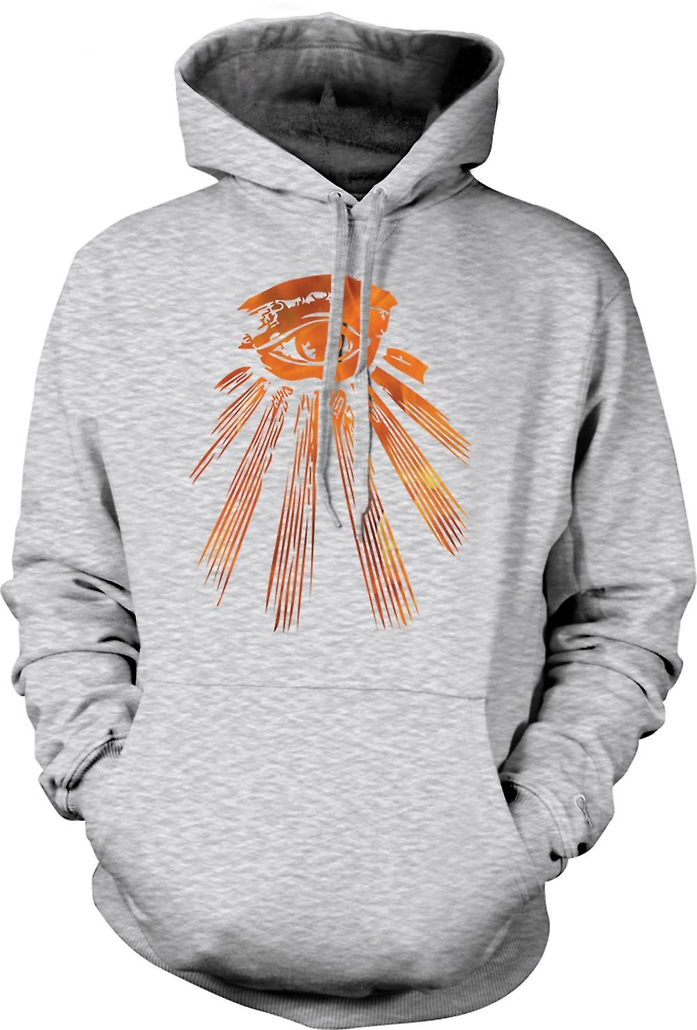 Mens Hoodie - Illuminati All Seeing Eye