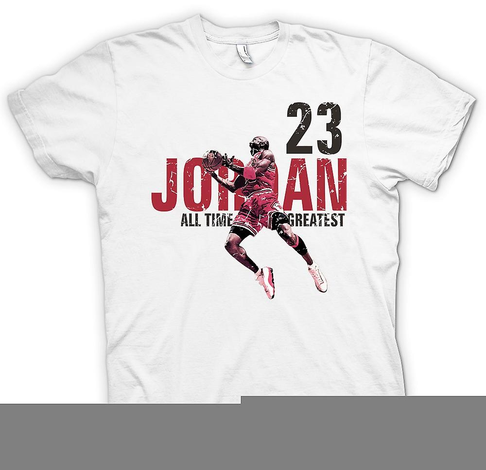 T-shirt - Jordon - 23 - All Time Greatest