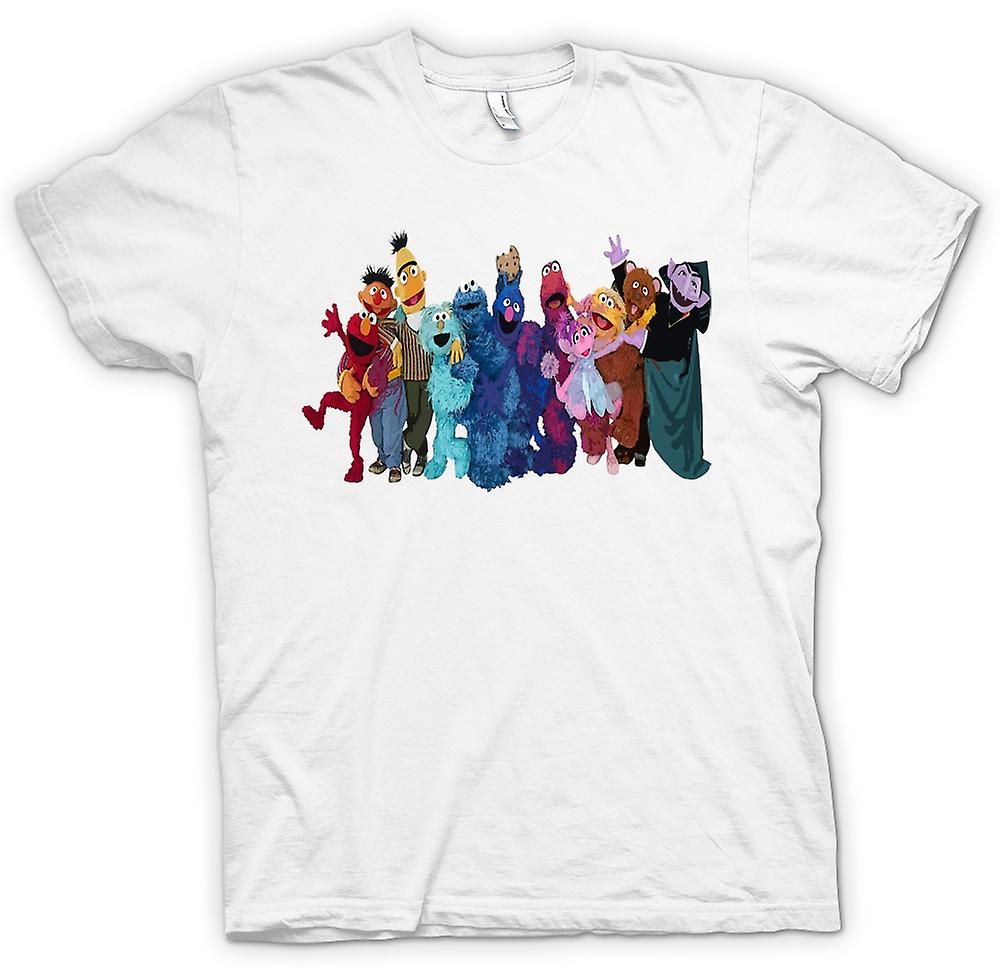 Womens T-shirt - Sesame Street Gang - Tv Show Inspired