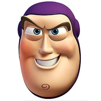 Buzz Lightyear Card Face Mask (Toy Story)