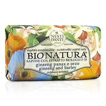 Nesti Dante Bio Natura Sustainable Vegetal Soap - Ginseng & Barley - 250g/8.8oz