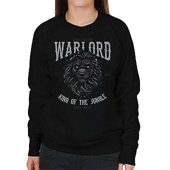 Warload König der Jungle Lion Damen Sweatshirt