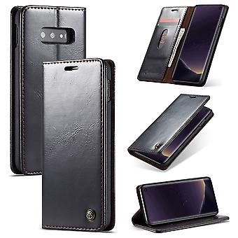CaseMe protective cover cell phone case for Samsung Galaxy S10 Lite business bag wallet black