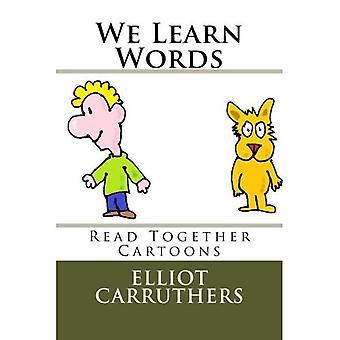 We leren de woorden: Lezen samen Cartoons