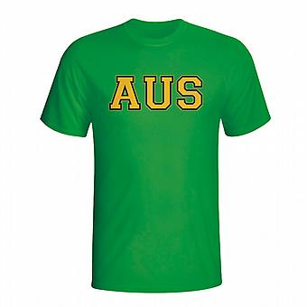 Australia Country Iso T-shirt (green)