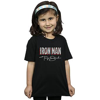 Marvel Girls Iron Man AKA Tony Stark T-Shirt