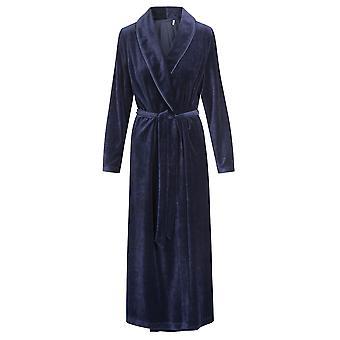 Novo Romance noite azul Roschi 1884164-11694 feminino, vestir o vestido