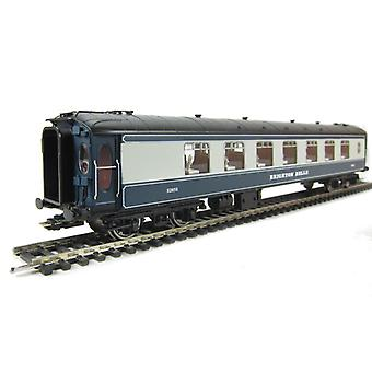 Hornby R4527 Brighton Belle Car Pullman Trailer 3rd S285S in BR Blue & Grey