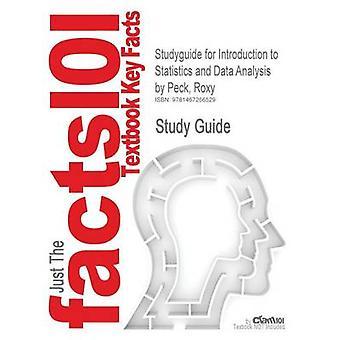 Studieguiden Introduktion til statistik og dataanalyse af Peck Roxy ISBN 9780840054906 af Cram101 lærebog anmeldelser