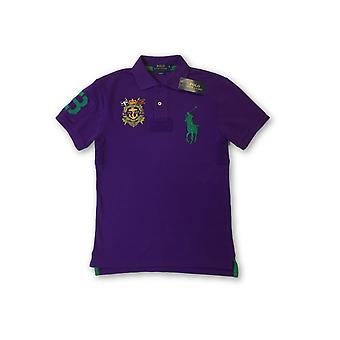Ralph Lauren polo lim fit polo in purple